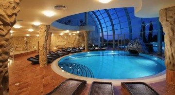 circle indoor swimming pool designs