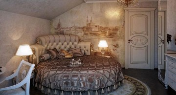 circular bed for loft rooms