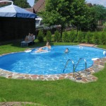 circular in ground tiny swimming pools
