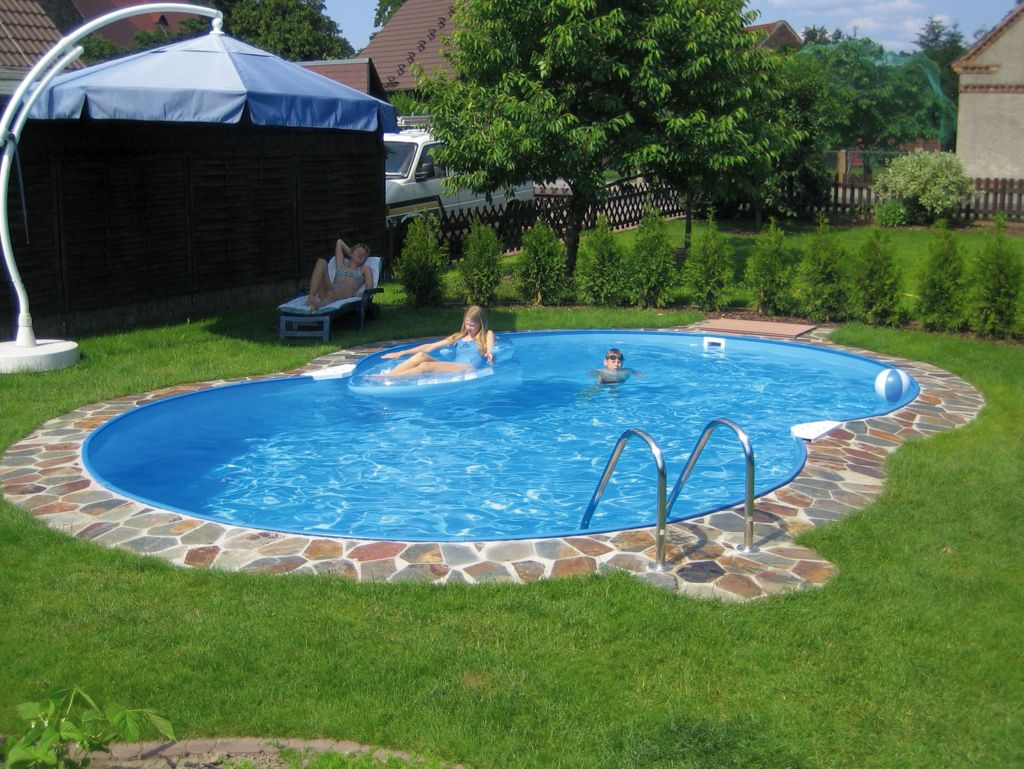 Circular In Ground Tiny Swimming Pools