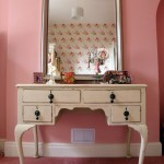 classic make up storage cabinet ideas with mounted mirror