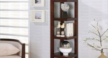 classic squared corner shelf designs