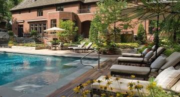 classy Backyard pool designs