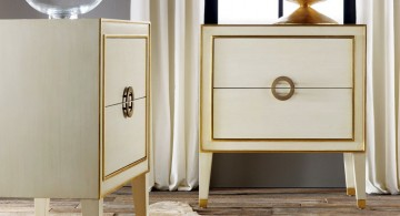 classy and modern nightstands white