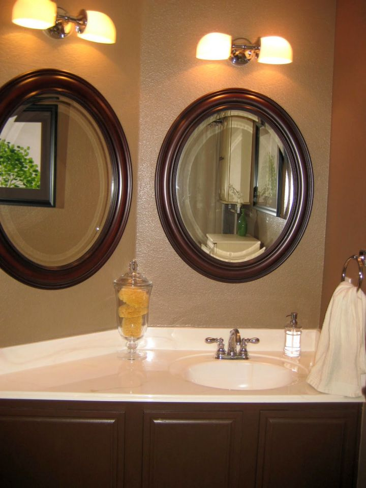 18 gorgeous brown bathroom ideas for Bathroom ideas tan