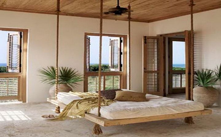 Gallery For Homely Hanging Bed Designs