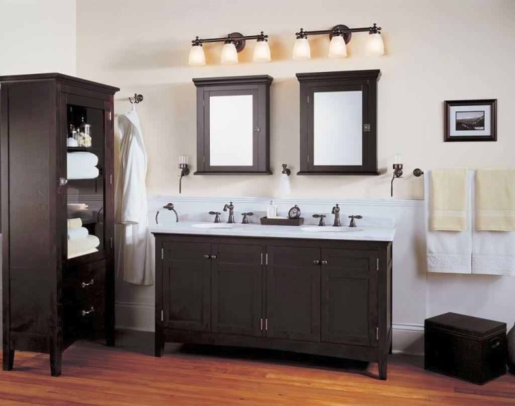 Classy In Black And White Bathroom Vanity Lighting Ideas