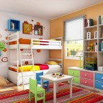 colorful funky bunk beds