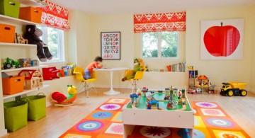 colorful kids playroom design ideas
