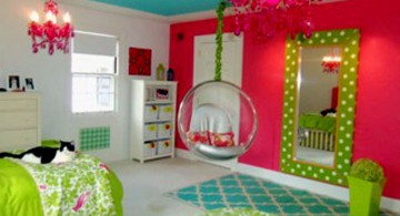 colorful nice rooms for girls