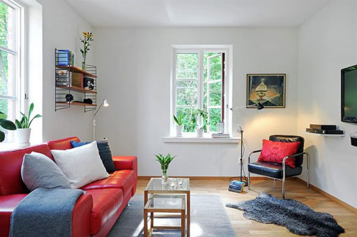 colorful small living room ideas