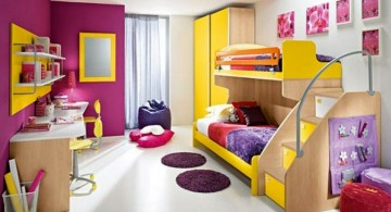 colorful stylish bunk beds