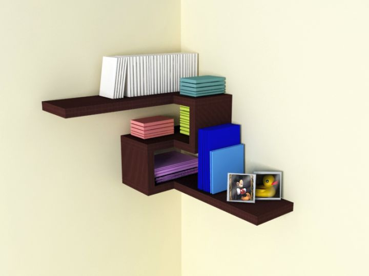 So, what do you think about contemporary 4D corner shelf designs above?  It's amazing, right? Just so you know, that photo is only one of 18 Pretty  Corner ...