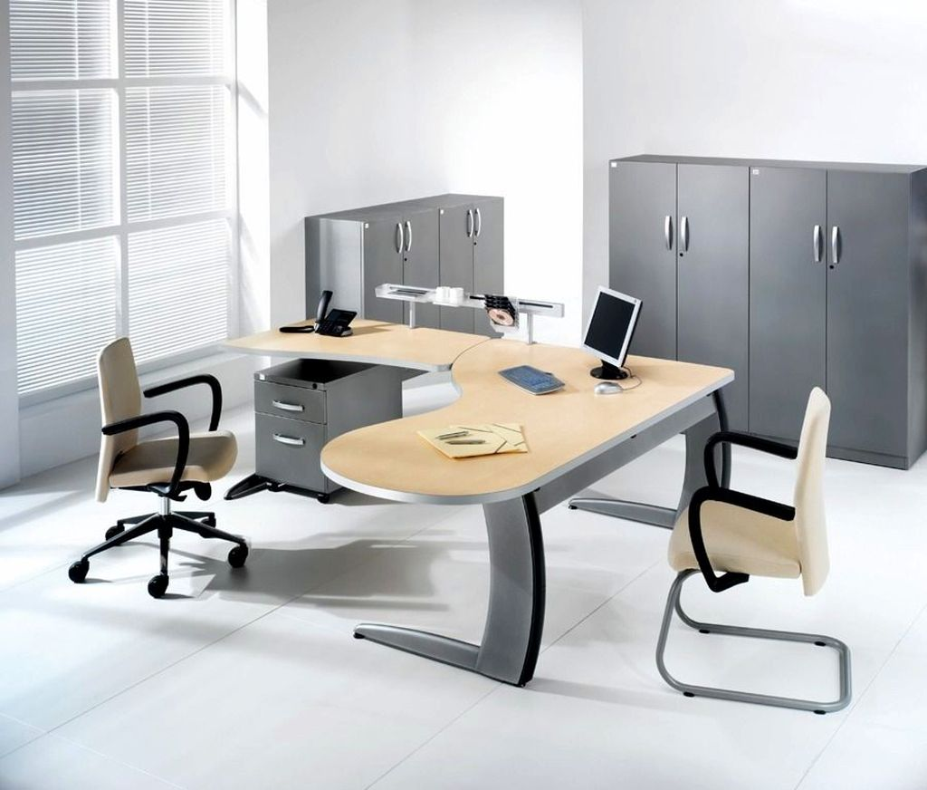 20 modern minimalist office furniture designs for Modern desks for home office