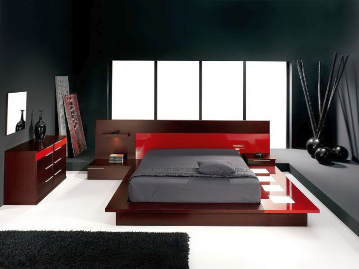 Incroyable Gallery For Black And Red Bedroom Ideas