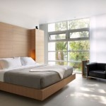 contemporary bedding ideas with no headbed