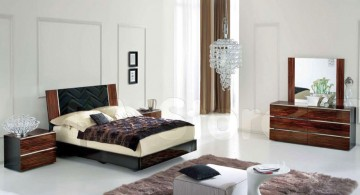 contemporary bedding ideas with textured headbed