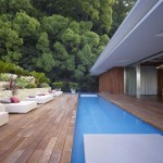 contemporary best backyard swimming pool designs