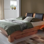 contemporary but unique tree branch bed