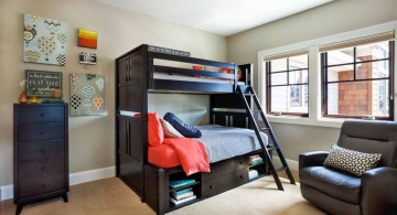 contemporary cool bunk bed designs