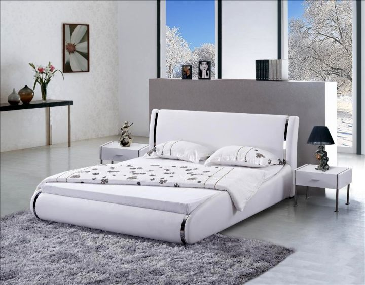 contemporary curved bed designs