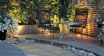contemporary japanese garden designs for small spaces with some river rocks