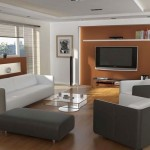 contemporary living room with modern painted floors inspiration