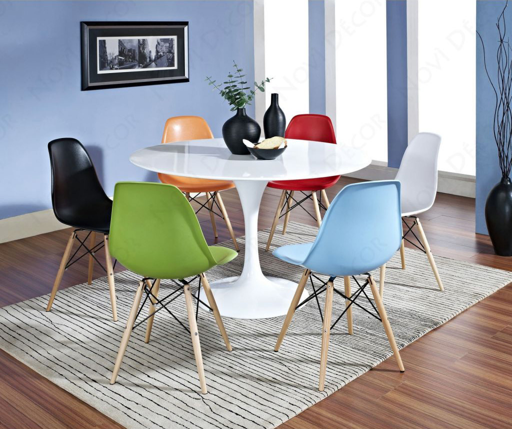 Colorful Dining Chair: 20 Fun Multi-Colored Dining Chairs