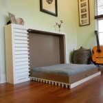 contemporary murphy bed design ideas for small rooms with guitar