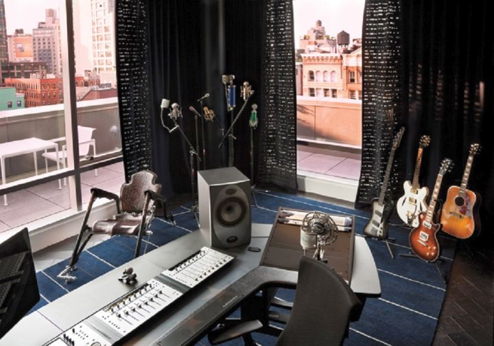 contemporary music room designs for apartments