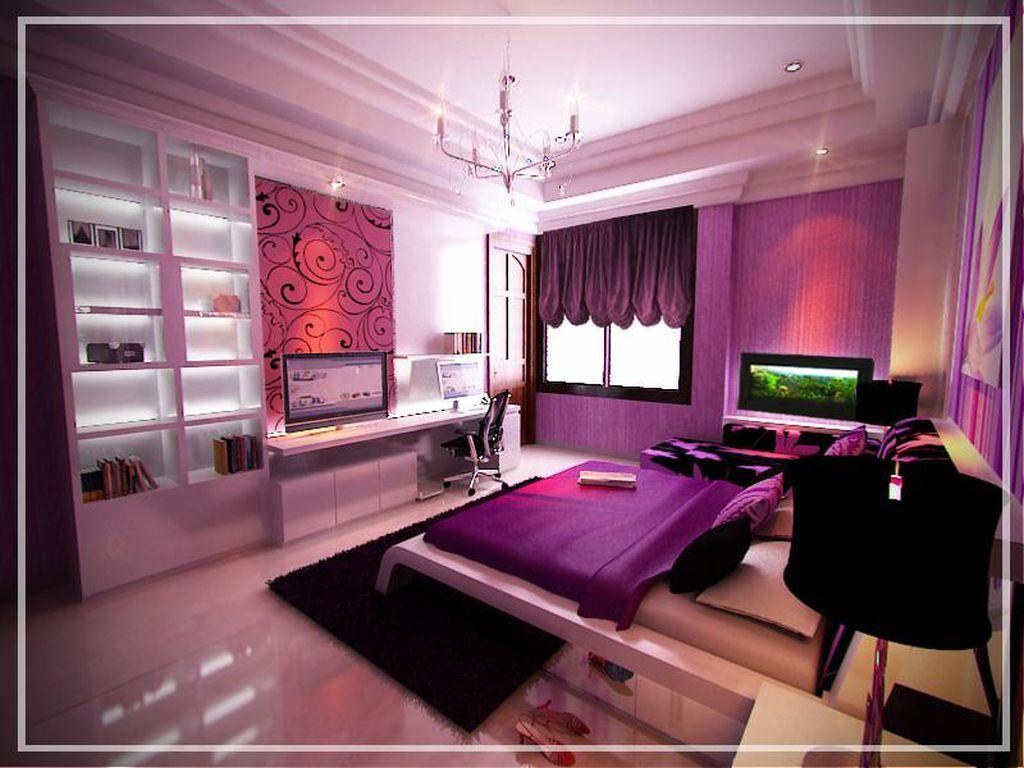 Contemporary Pretty Girl Bedrooms