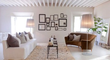 contemporary rustic living room ideas