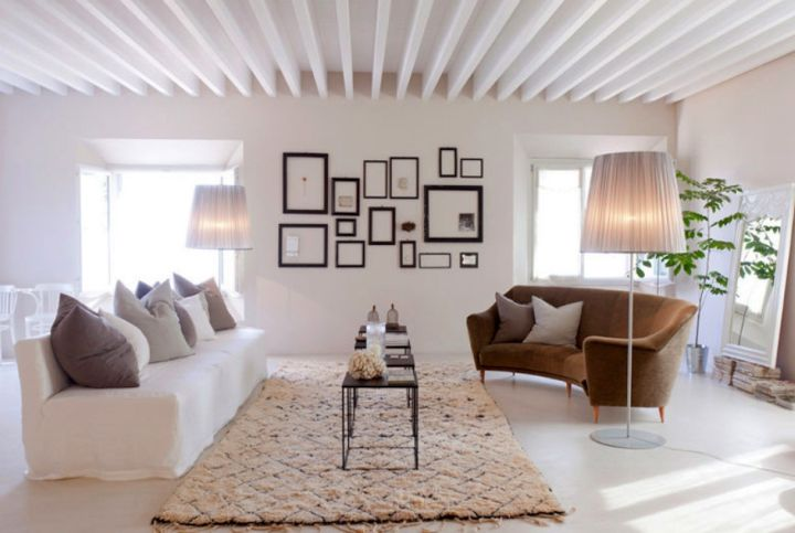 gallery for rustic living room ideas - Modern Rustic Living Room