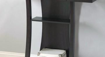 contemporary small entry table ideas