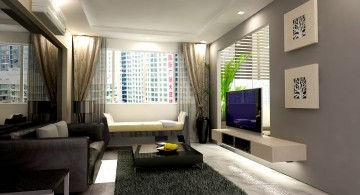 contemporary small living room ideas