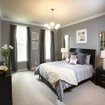 contemporary tray ceiling bedroom