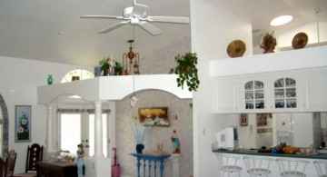 contemporary vaulted ceilings