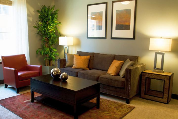Contemporary zen living room ideas for small apartments for Decorating ideas for apartments living room