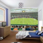cool bedrooms for teenage guys and football fans