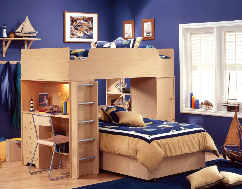 Cool Bunk Bed Designs For Teenagers
