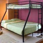 cool bunk bed designs slim black metal