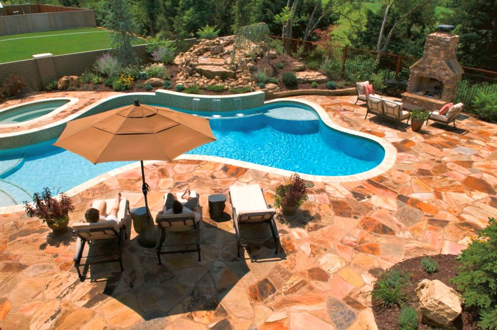 Stunning Pool Shapes And Designs Photos - Interior Design Ideas ...