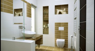 cool modern bathrooms for small space