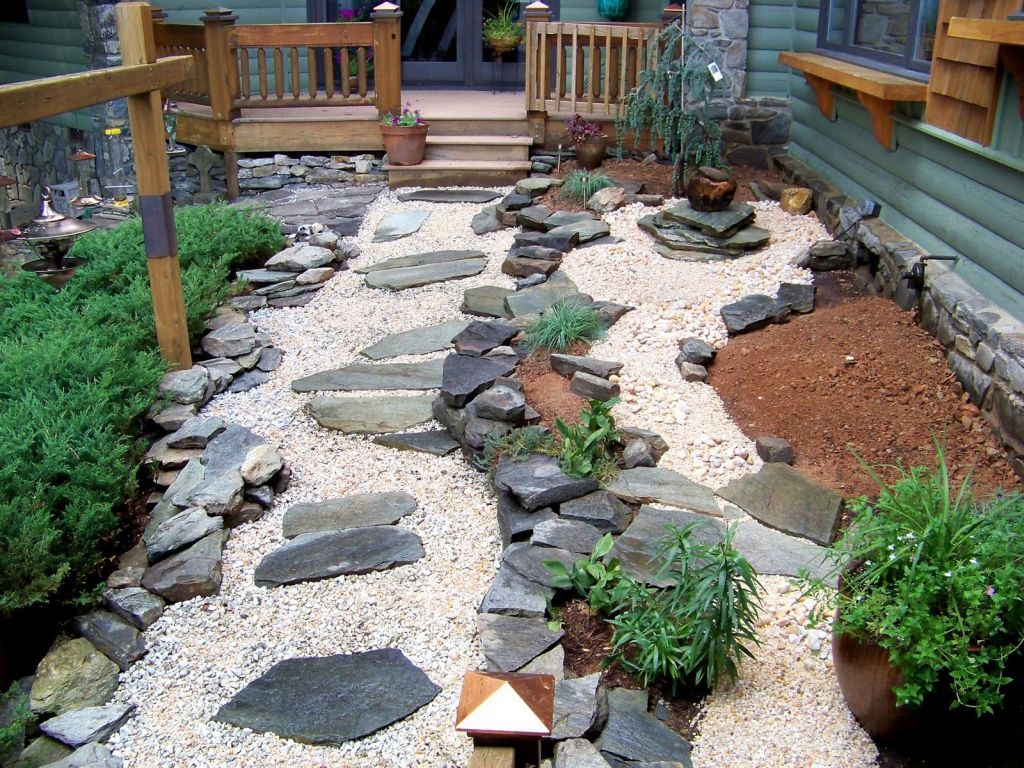 Cool zen style japanese garden backyard design for Backyard japanese garden design ideas
