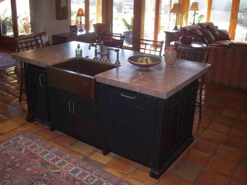 Pictures of kitchen islands with sinks - Kitchen Island Ideas With Sink