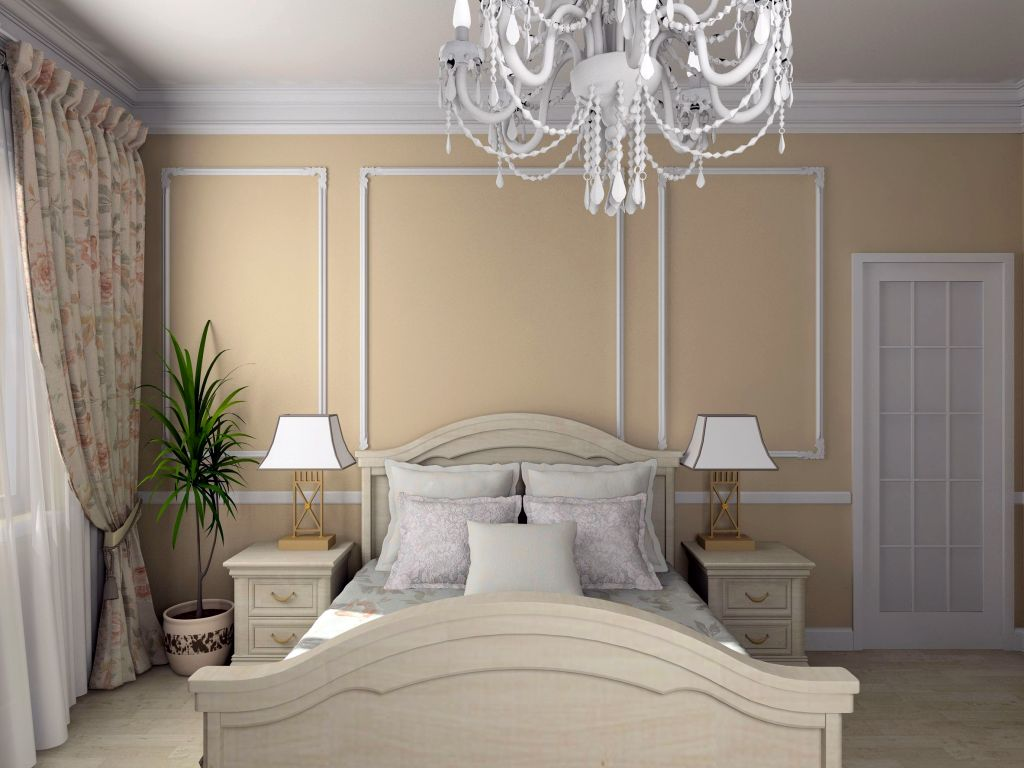 cream colored bedrooms