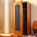 cupboard style contemporary wine cabinet