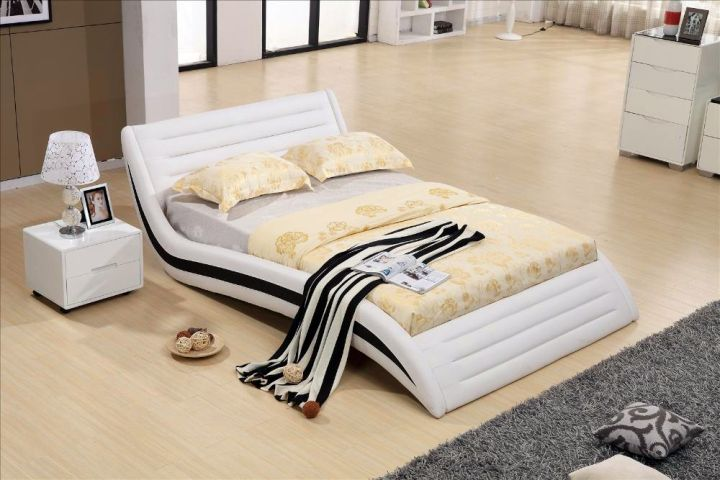 20 Unique Curved Bed Designs That Comfort You Better