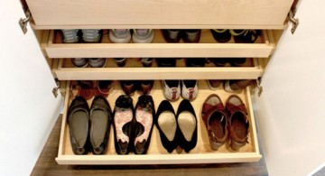 custom made drawers shoe cabinets design ideas
