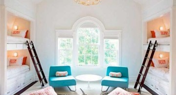 cute and stylish bunk beds for four